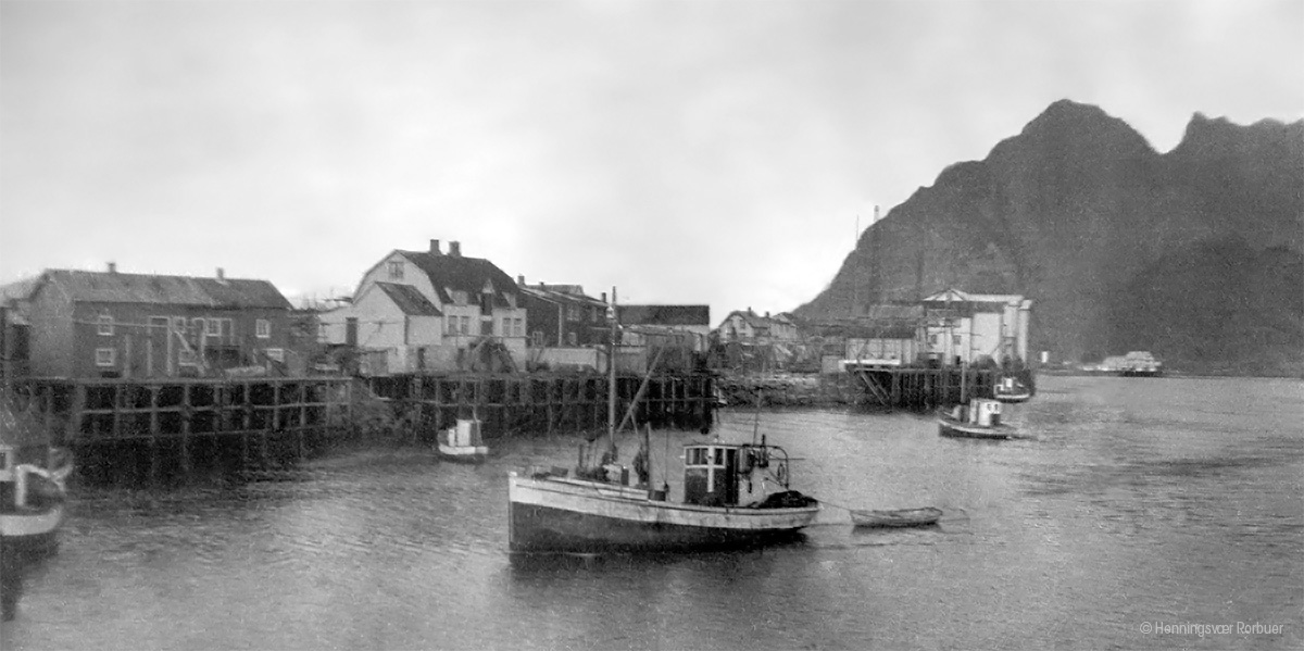Old picture - Lofoten rorbu