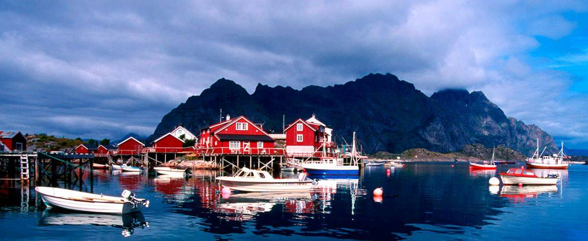Henningsvær Rorbuer, Accommodation in Lofoten