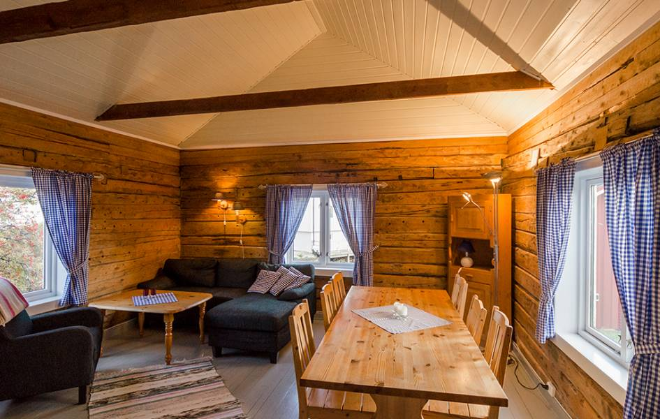 accommodation in lofoten - fisherman cabins